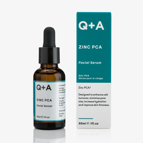 Q + A Skin | Zinc PCA Facial Serum 30ml