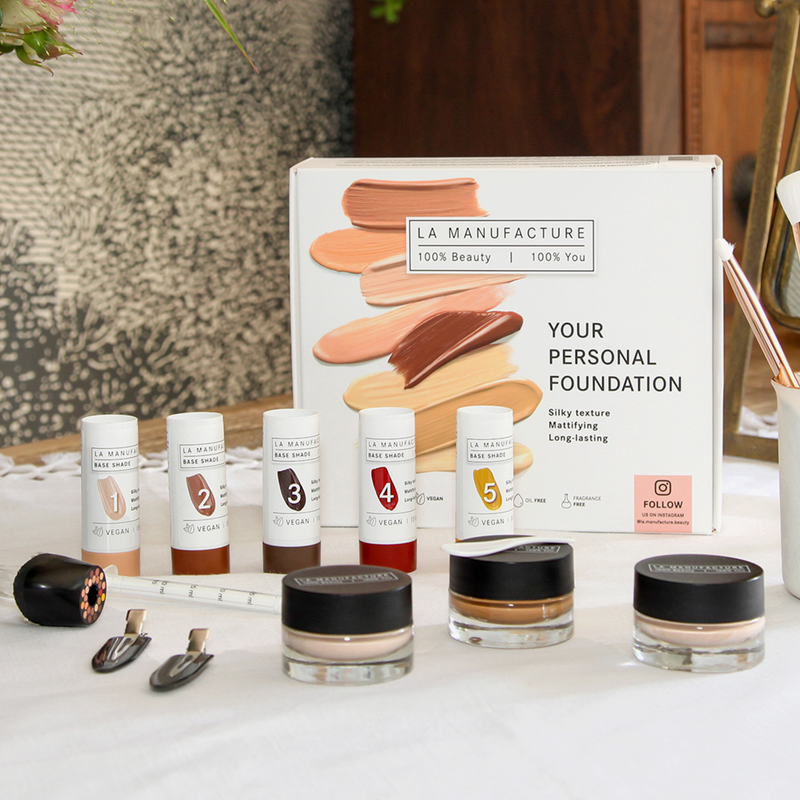 La Manufacture | Your Personal Foundation Kit