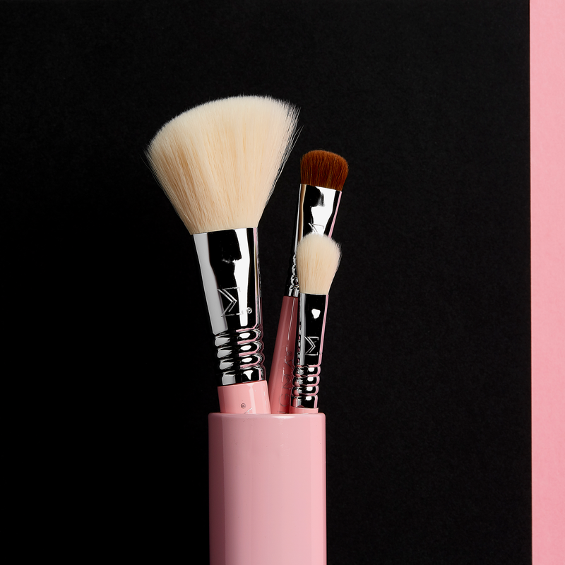Sigma Beauty | Essential Trio Brush Set Pink