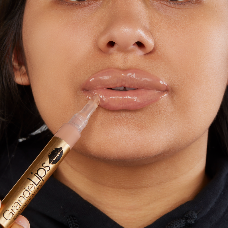 Grande Cosmetics | GrandeLIPS Hydrating Lip Plumper Gloss Barely There