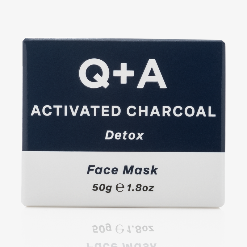 Q + A Skin | Activated Charcaol Face Mask 50g