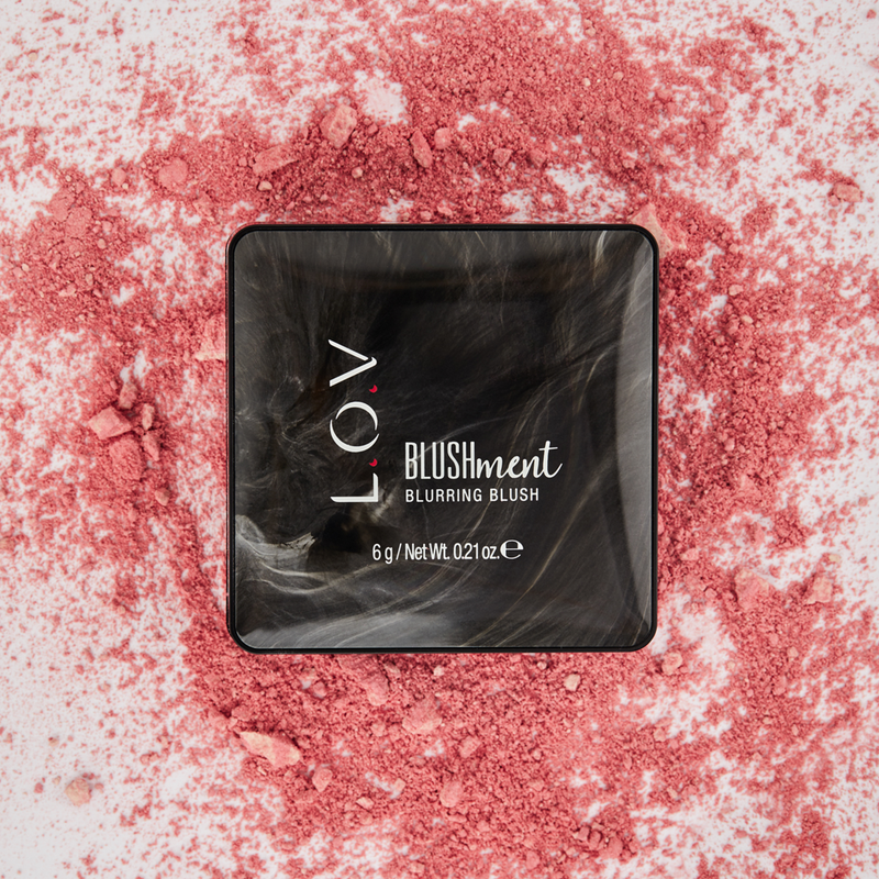 L.O.V BLUSHMENT Blurring Blush