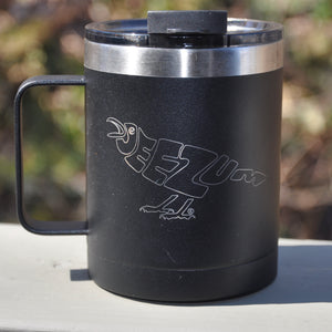 Jeezum Crow RTIC 12 oz Black Coffee Mug