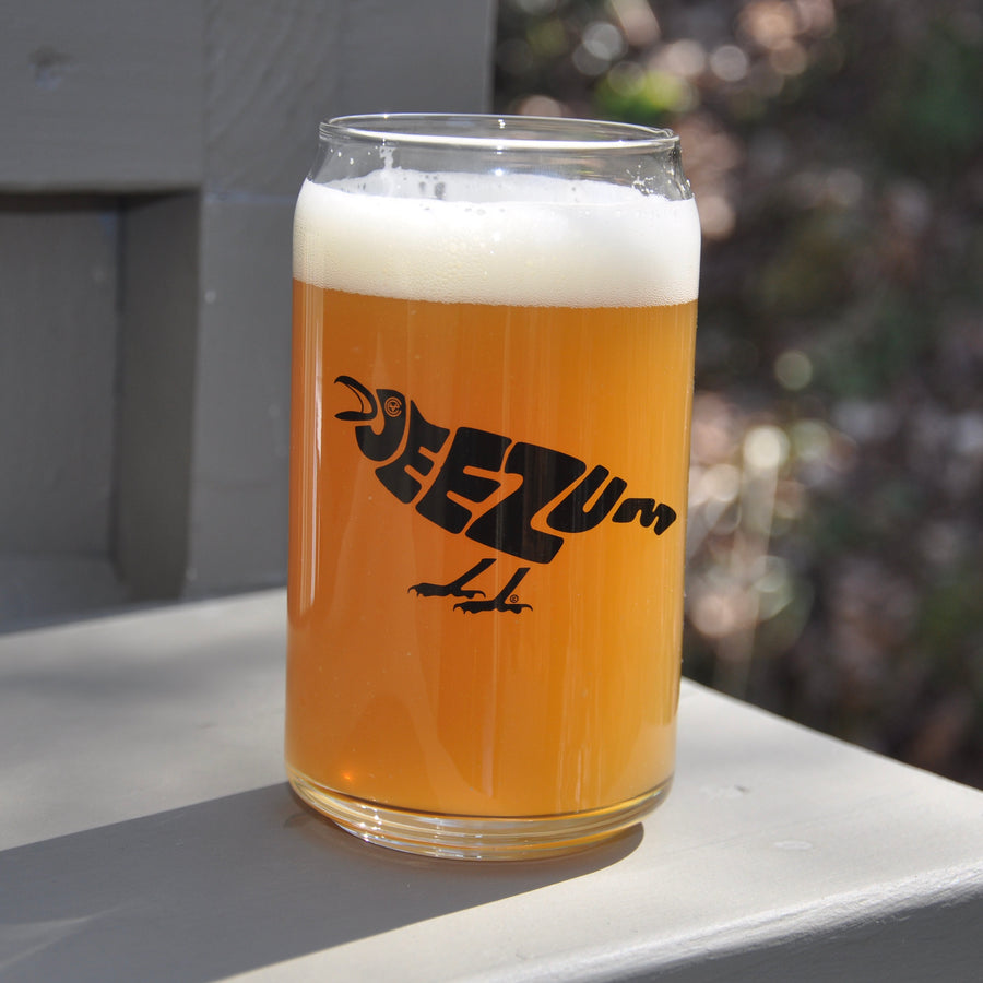 Jeezum Crow Pint Glass 2 Pack