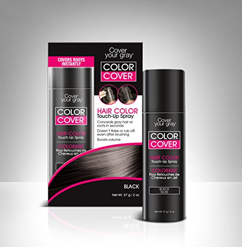 Cover Your Roots Comb, Brush and Spray - 3 Piece Gray Coverage Set - coveryourgray