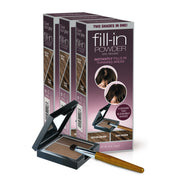 Fill-in Powder Two Shades in One - Value 3-Packs - Cover Your Gray - Cover Gray Hair, Roots, and Thinning Hair in Seconds