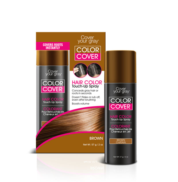Cover Your Gray Color Cover Spray Root Concealer And Hair Color Touch Up - coveryourgray