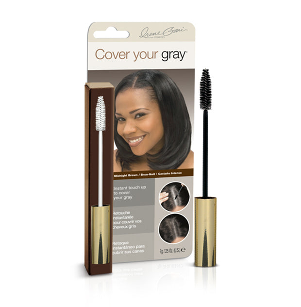 Cover Your Gray Brush-in Wand - Cover Your Gray - Cover Gray Hair, Roots, and Thinning Hair in Seconds