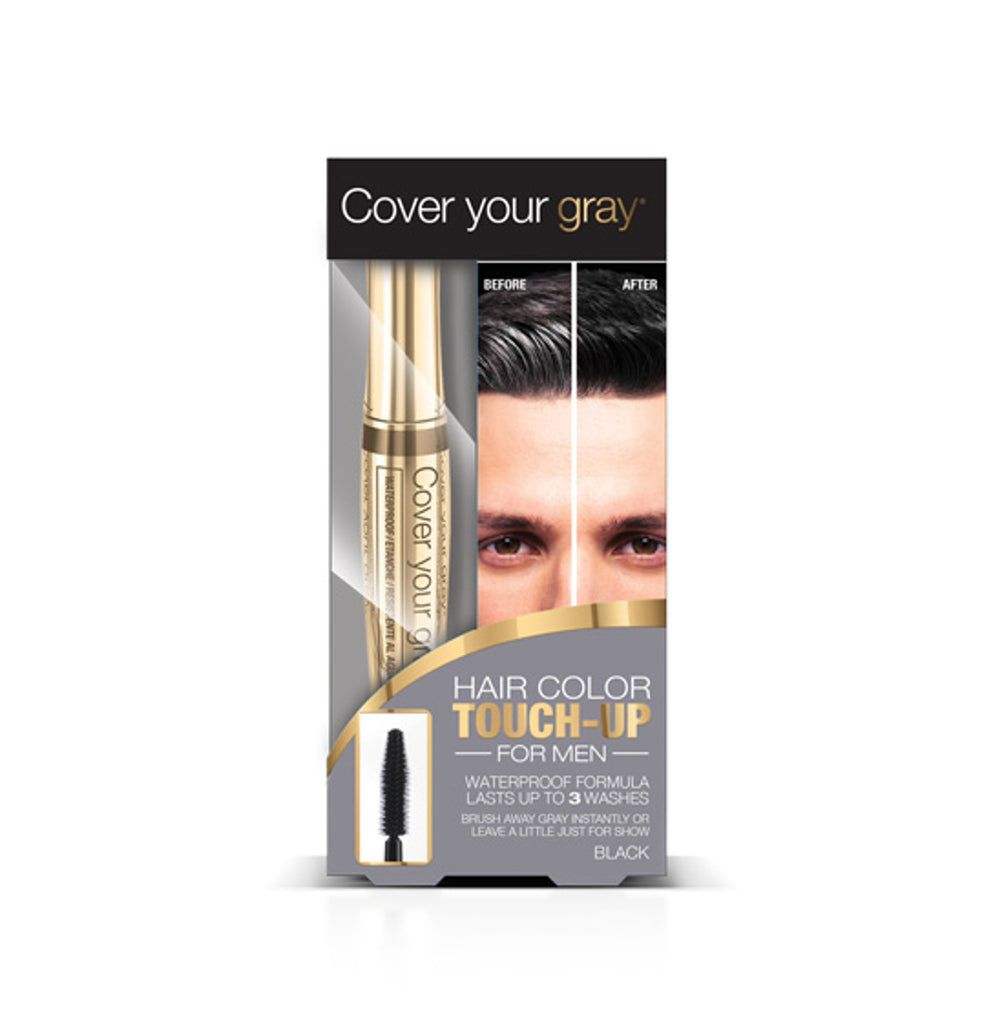 Cover Your Gray Waterproof Brush-in Hair Color Touch-up for Men