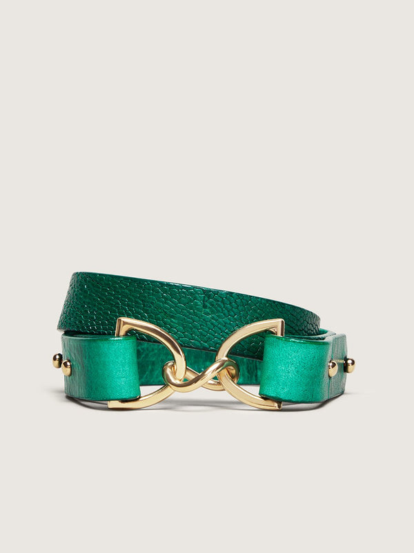 Double Wrap Bracelet - Brilliant Green