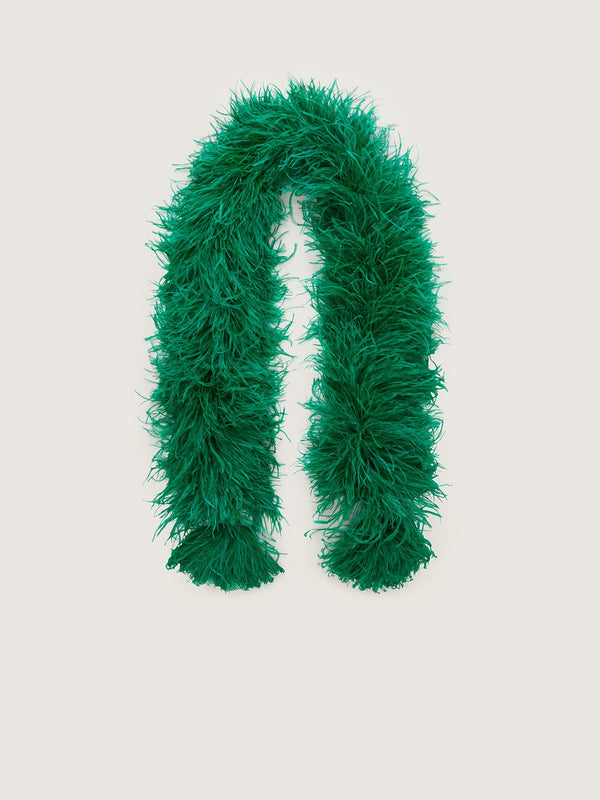 Feather Boa - Brilliant Green