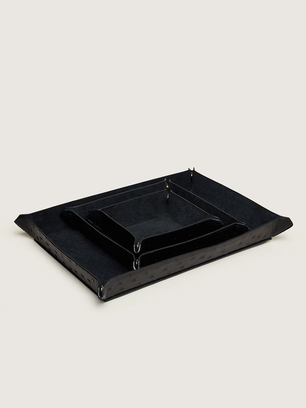 Valet Tray Set - Black