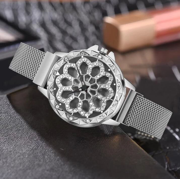 Luxury Rotating Watch