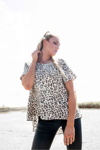 Hayman Animal Print Tee