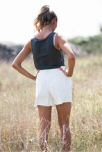 Load image into Gallery viewer, Anodella White Denim Shorts