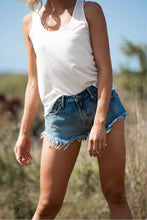 Load image into Gallery viewer, Freyed Denim Shorts