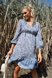 Meadow Bohemian Print Dress