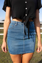 Load image into Gallery viewer, Classic soft denim mini