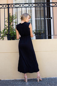 April Maxi Dress Black