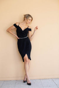 Amaya Evening Dress Black