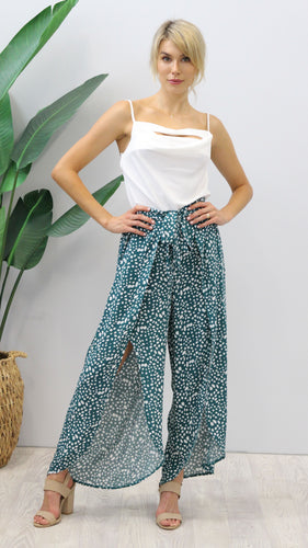 Stassi Dalmation Print Pants