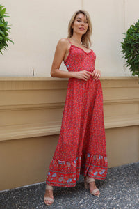 Eilidh Floral Maxi dress