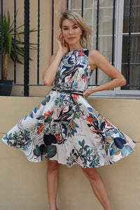 Adalee Belted Dress