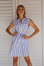 Load image into Gallery viewer, Allie Linen Striped Dress