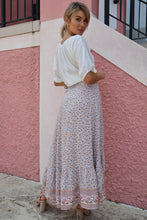 Load image into Gallery viewer, Amelia Boho Wrap Maxi Skirt