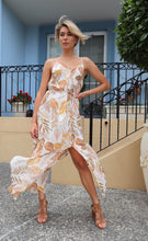 Load image into Gallery viewer, Shayla Leaf Print Maxi dress