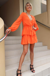 Amber Long Sleeve Dress