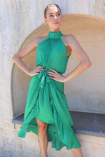 Load image into Gallery viewer, Amarella Green Evening Dress