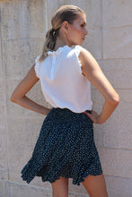Load image into Gallery viewer, Ashley Shirred Waist Frill Skirt