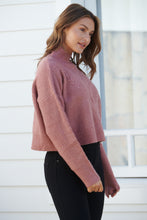 Load image into Gallery viewer, Jennifer Pink Cable Knit Jumper