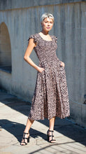 Load image into Gallery viewer, Ines Shirred Maxi Dress