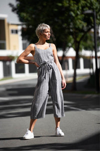 Antonia Striped Jumpsuit