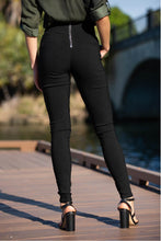 Load image into Gallery viewer, Amara High Waisted Zip back Pants