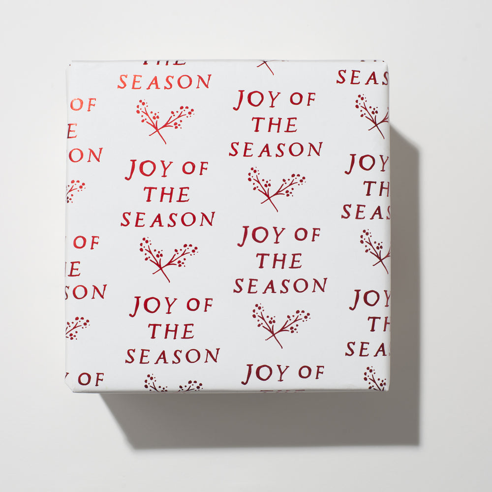 Load image into Gallery viewer, Joy Of The Season Foil Wrap