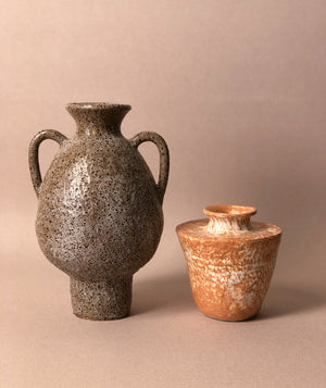 Load image into Gallery viewer, Brown Speckle Vase