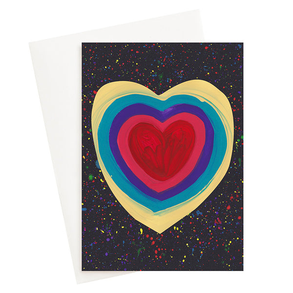 Rainbow Love Card