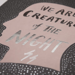 Creatures of the Night Print