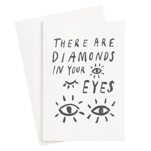 Diamond Eyes Card