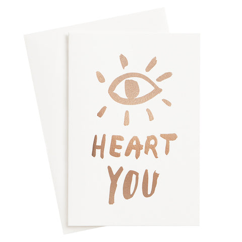 Eye Heart You Card