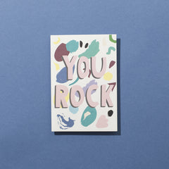 You Rock 80's Card (Sold Out)