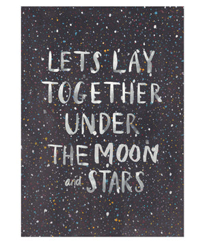 Under The Moon and Stars Print