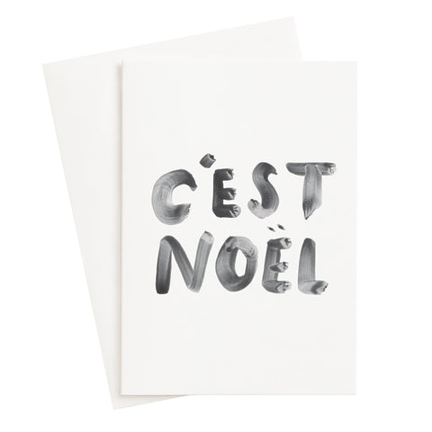 Cest Noël Mini Card (Sold Out)