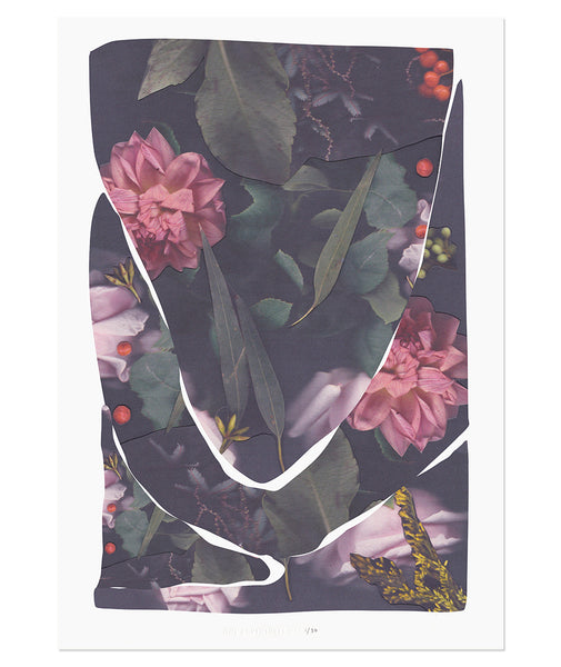 Flower Collage Print