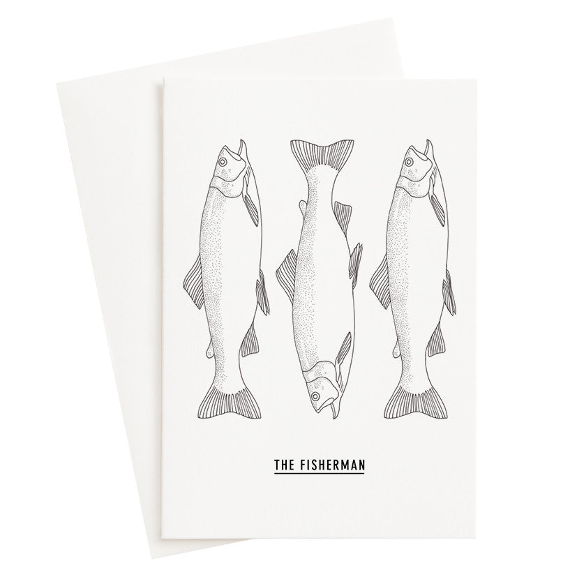 Load image into Gallery viewer, The Fisherman Card