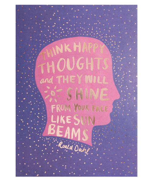 Think Happy Thoughts Print (Large)