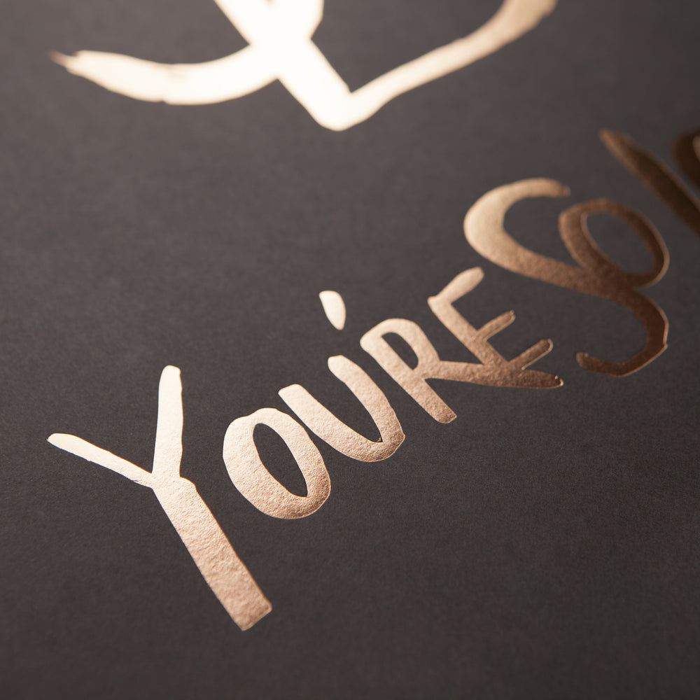You're So Lovely Black Print (Sold Out)